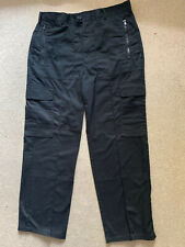 "Ex-Police Combat Cargo Trousers Size:34"" waist.,74cm inside leg used"
