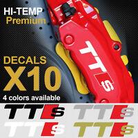 AUDI TTS TT RS S-line Quattro TFSI TD PREMIUM BRAKE CALIPER DECALS STICKERS