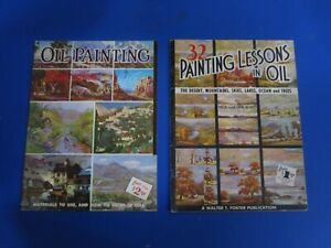 Two Walter Foster books on Oil painting, in good shape