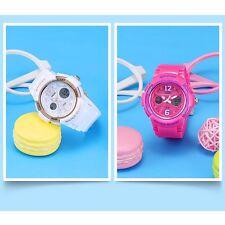 SMAEL Women Girl Student Sport Watches Analog Digital LED Waterproof Resin Watch