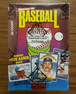 1986 Donruss Baseball BBCE Sealed Wrapped Wax Box 36 Packs - Canseco McGriff RC?