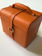 New TALBOTS Jewelry & Watches Organizing Travel Box 2-Level Case in Orange