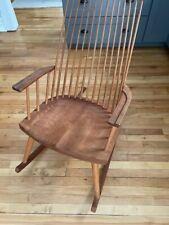 Thos. Moser Furniture vintage 1991 rocking chair hardwood New Gloucester rocker