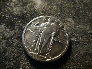1919-D Readable Date Standing Liberty Quarter KKA