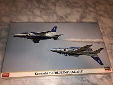 2015 Hasegawa 1/72 Kawasaki T-4 Blue Impulse Model Kit NEW  Japan