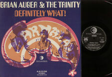 LP BRIAN AUGER & TRINITY DEFINITELY WHAT! MADE IN ITALY 1968 STEREO SLIR 22 026
