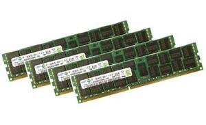 4x 16GB 64GB RDIMM ECC REG DDR3 1600 MHz RAM f. DELL Precision T3600 T5600 T7600