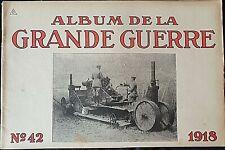 Album imprimé en  photographié en noir et blanc en édition allemand N°42 1918 A5