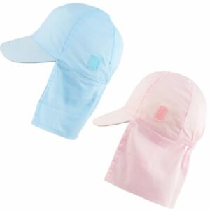 Baby Sun Hat Legionnaires Cap Neck Protection Flap Summer Girls Boys 0-18 Months