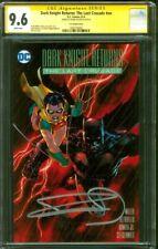 Batman Dark Knight Returns Last Crusade 1 CGC SS 9.6 Miller Lee Variant 8/16