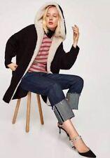 Size M - NWT Zara TEXTURED HOODED JACKET CARDIGAN OVERSIZE POCKETS COAT BLAZER