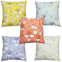 Bergen Floral Scandinavian Fryetts Scandi Fabric Cushion Cover