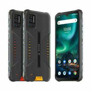 UMIDIGI BISON 8GB+128GB Rugged Smartphone Téléphone antichoc étanche et robuste