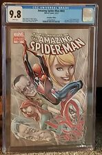 Amazing Spider-Man 692 CGC 9.8 White Pages. With Stan Lee's Face on cover RARE!!