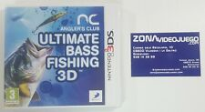 Angler's Club Ultimate Bass Fishing 3d, Nintendo 3Ds, Pal-Eur. Nuevo a estrenar.
