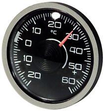 Original 1976 Thermometer Bimetall justierbar RICHTER Art 3511 mit Magnethalter