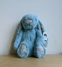Jellycat Blossom Aqua Bunny Medium H31 X W12cm