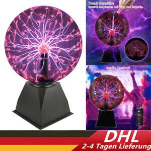 Plasmakugel Magische Blitze Plasmaball Lampe Leuchten Party Deko 20 cm DHL