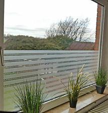 6,57€//m² Fensterfolie Sichtschutzfolie Milchglasfolie selbstklebend Fenster