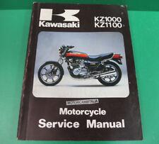 KAWASAKI kz1000 CSR manuale officina riparazione service manual kz1100 ltd KZ
