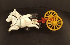 Vintage Cast Iron Horses and Wheels - looking for the Cart
