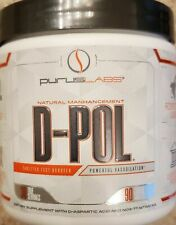 Purus Labs D-POL Testosterone Libido Lean Muscle Builder - 90 Tablets