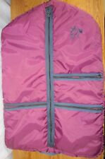 HORSE SHOW CLOTHES CHAP GARMENT BAG QUILTED HANGING LINED ZIPPER
