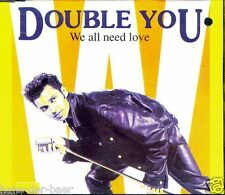 Double You - We All Need Love ♫ Maxi-Single-CD von 1992 ♫ FAST WIE NEU ♫