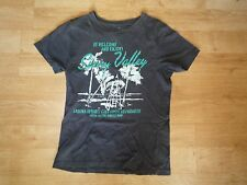 Tee-shirt homme plage Laguna Resorts California taille S Sunny Valley Angelo Litrico