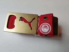 New Olympiakos Red Puma Belt Buckle  Bottle Opener Football