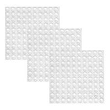 Mayam 300 Pieces Clear Rubber Feet Adhesive Door Bumpers Pads Sound Dampening by