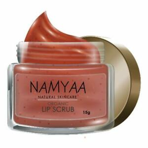 Namyaa Organic Lip Scrub, Coconut, Glycerin and Other Natural Ingredients 15gm