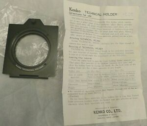 Kenko Technical Filter Holder 58mm with Instructions - Made in Japan
