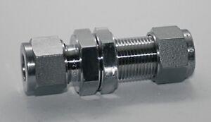 10mm Tube 254ss  Bulkhead Union Swagelok 254-10M0-61
