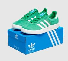 Adidas Trimm Trab Rivalry Green Uk Size 9 BNIBWT