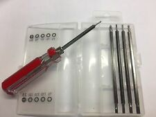10 in 1 precision screwdriver T5/T6/T7/T8/PH1/T9/T10/T15/T/20/2.5FLAT *USA*
