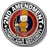 2nd Amendment Gun Vinyl Sticker Decal, Elmer Fudd, Gun Rights Truck window USA