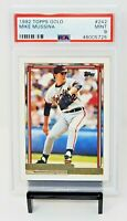 1992 Topps GOLD HOF Orioles MIKE MUSSINA Rookie Baseball Card PSA 9 MINT