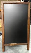4.5ft Heavy Duty Large Chalk A Board Advertising Event Pavement Sign 820x1440mm
