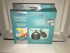 Yankee Candle Bahama Breeze Charming Scent Car Charm Bangle - USA EXCLUSIVE