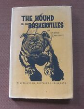 THE HOUND OF THE BASKERVILLES by Sir Conan Doyle -1958 Dutch Edition great cover