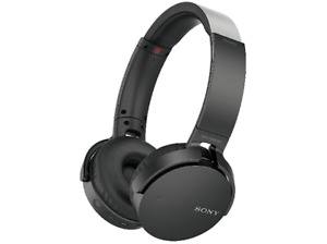 Auriculares inalámbricos - Sony, MDRXB650BT Extra Bass, Bluetooth, NFC, Negro