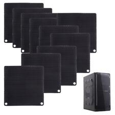 10 pcs 80mm Aluminum Dustproof Filter Dust Mesh Grill Guard For PC Cooling Fan