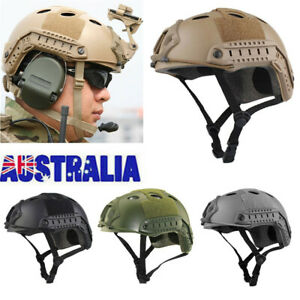 Outdoor Tactical Helmet Military Airsoft Paintball Swat Protective Comfort AU
