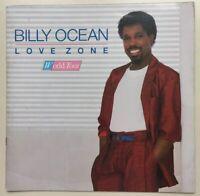 Billy Ocean Love Zone World Tour Vintage Pre Owned Tour Book Program (1986?) HTF