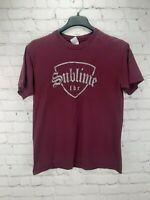 Ska Punk band Sublime lbc Maroon Grey T-Shirt Adult Unisex Size Medium
