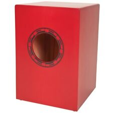 Performance Percussion PP145 Junior Cajon With Padded Carry Bag - Red