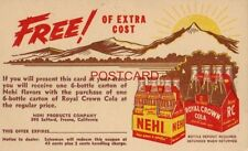 NEHI PRODUCTS, FRESNO, CAL. REDEEM THIS COUPON - FREE! of Extra Cost