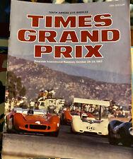 1967 10TH TIMES GRAND PRIX For Sport Cars Riverside Int. Raceway Oct 28-29 NICE