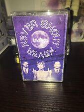 NEW Never Shout Never Indigo Cassette Super RARE 50 made HTF and RARE